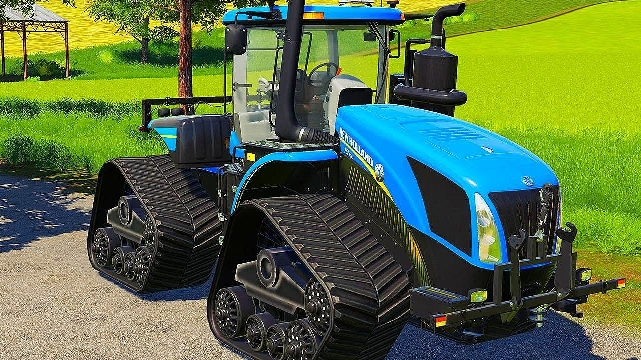 мультик синий трактор.мультик про трактор.цветные трактора ...