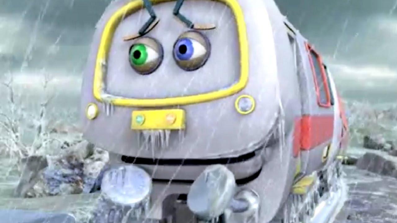 Веселые паровозики из Чаггингтона: Ледяной дождь\