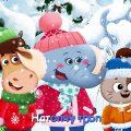 Бурёнка Даша. Зима | Песни для детей
