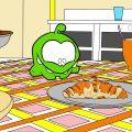 Мультик - раскраска - Учим цвета - Ам Ням - Любимая еда
