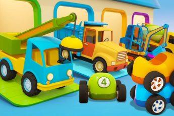 Мультики про машинки МАШИНЫ ПОМОЩНИКИ - новая серия Магазин игрушек. Сборник для детей