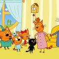 Три кота | День черного кота | Серия 41 | Мультфильмы для детей