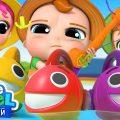 Ловись, Рыбка 🐟 Песенка - Считалочка 🐠 | Развивающие Мультики Для Детей | Little Angel Русский