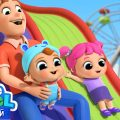 Едем В Парк Аттракционов 🎡 | Веселые Развивающие Песенки Для Детей | Little Angel Русский