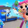 Играем В Машинки - Детки На Автомойке | Веселые Развивающие Песенки Для Детей | Little Angel Русский