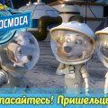 Белка и Стрелка. Тайны космоса - Спасайтесь! Пришельцы! (9 серия)   Познавательный мультфильм