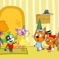 Три кота | Киношедевр | Серия 2 | Мультфильмы для детей