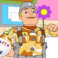 Доктор Плюшева - Раскраска Disney - Ко дню защитника про солдатиков, 23 февраля, Выпуск 7