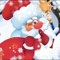 Бурёнка Даша. Дед Мороз - проказник | Песни для детей