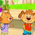Пип и Альба - Приключения в соленой бухте –Пузырьковый поезд - Обучающий мультфильм – серия 35