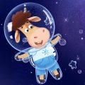 Бурёнка Даша. Мыльные пузыри | Песни для детей