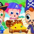 Песенка Пиратов 🏴☠️💰 Ищем Сокровища | Мультики Для Дошкольников | Little Angel Русский