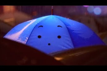 мультфильм Disney Синий зонтик | Короткометражки Студии PIXAR [том3] | Мультик о встрече в городе