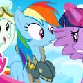 Дружба - это чудо. Мультфильм Май Литл Пони 6 сезон. Высший пилотаж. Тренировки Чудо молний
