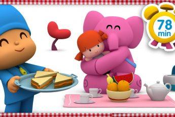 Покойо на русском - 🍰 Пикник [ 78 минут ] | Мультфильмы для детей