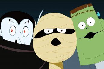 привет это Хэллоуин дети музыка Хэллоуинские рифмы страшная песня Hello It's halloween Scary Song