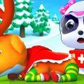 Рудольф – олень Санты🎅   Суперспасатели   Новый сборник мультфильмов для детей   BabyBus (4 серии)