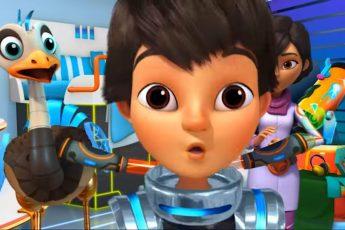 Майлз с другой планеты - Взрыв астероида/ Магнитный Мёрк (Сезон 1 Серия 19) | Disney