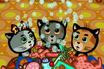 Три котенка - Холодный холодильник (1 сезон | серия 2)