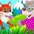 Волк и Лиса - Сказка для детей / Мультфильм для детей / Сказки Тонти / Мультики малышам