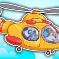 Машинки Биби - Запускаем Планер Ищем Клад Ремонт Машинок - Мультфильмы Для Детей