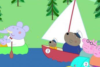 Свинка Пеппа на русском все серии подряд | Катание на лодке