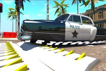 Мультики про машинки - Полицейские машины и украденный сейф.