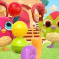 Совёнок Хоп хоп и разноцветные шарики. Развивающие мультики для малышей