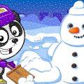 Машинки Биби - Зимние Приключения Автобуса - Мультики Про Машинки Для Детей
