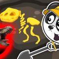 Биби Встречает Динозавров - Машины Помощники - Развивающие Мультики Для Малышей