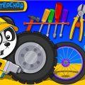 Биби Улучшает Машинки - Машины Помощники в Городе - Мультик Про Машинки Для Детей