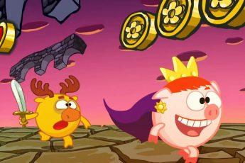 Игра - Смешарики 2D   Мультфильмы для детей
