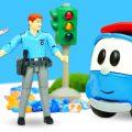 Лепи Играй: авария в городе! Лепим из пластилина Плей До в видео для детей про машинки