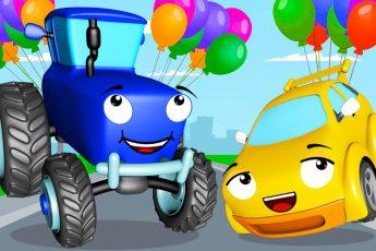 Смотрите Большой СБОРНИК Мультфильмов - СИНИЙ ТРАКТОР Павлик ждет вас! Не упустите новые Мультики про машинки и трактора для детей!