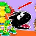 Вау, какая интересная у друзей появилась игрушка! Или же это не совсем игрушка? А вдруг эта черепаха опасна? Тогда ребятам грозит очень большая опасность!