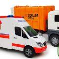 Тук-Тук и машины-помощники —Пожарная машинка, Скорая помощь и большой Мусоровоз — Рабочие машины