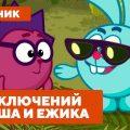 Лучшие серии про приключения Кроша и Ежика - Смешарики 2D. Сборник 2021