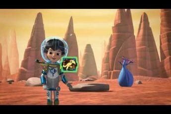 Послания Майлза -Значки космо-исследователей: Грок |сезон2 серия5| мультфильм Disney о космосе