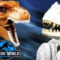 Динозавры ЛЕГО Мир Юрского Периода Финальная Битва Динозавров LEGO Jurassic World - Тиранозавр Рекс