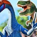 ДИНОЗАВРЫ. Мультфильм на русском про Динозавров новая серия. Тираннозавр Рекс и Монстр. Игрушки ТВ