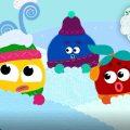 Кругляши - Зима! Новая серия и песенка для детей!