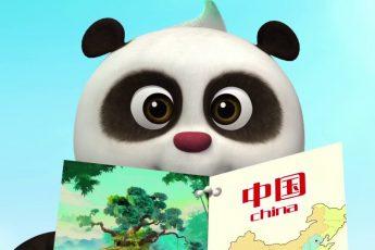 Кротик и Панда - Друг издалека - 1 серия (мультик для детей)