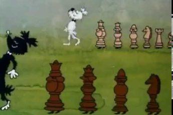 Шахматы Забавные. Король я