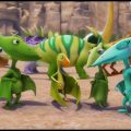 Поезд Динозавров (3 сезон) Юрские Старты. Воздушная гонка с препятствиями