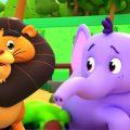 Зоопарк Песня | Детские стишки | Развивающие мультфильмы | Kids Tv Russia | Стихи для детей