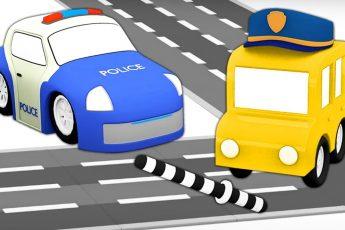 Полицейская машинка и мультик 4 машинки - Мультфильмы для малышей про машинки. Новая серия мультика