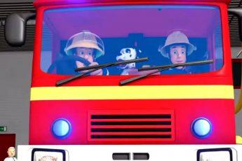 Аварийная ситуация в пожарной машине!   Пожарный Сэм   Новые серии 🔥 Мультфильмы