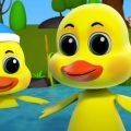пять маленьких уток | музыка для малышей | потешки | Bob The Train Russia | детские песни