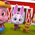 У старого макдональдса была ферма | Песни для детей | Loco Nuts | развивающий мультфильм