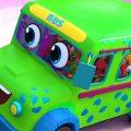 Колеса на автобусе | Детские стишки | Дошкольные видео | Zoobees Russia | развивающий мультфильм